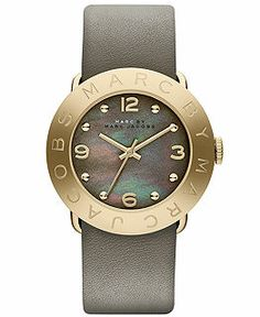 Marc by Marc Jacobs Watch, Women's Amy Dirty Martini Leather Strap - Women's Watches - Jewelry & Watches - Macy's - nice womens watches, unique womens watches, stainless steel watches womens Handbag Accessories, Jewelry Accessories, Fashion Accessories, Marc Jacobs Watch, Sport Watches, Women's Watches, Jewelry Watches, Casual Watches, Luxury Watches