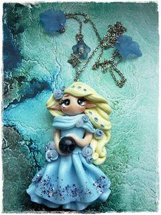 Sweet Elfe -blau von Marions Traumlädchen auf DaWanda.com