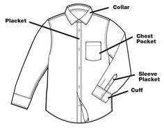 CAMISA DAVANT Annotated shirt- front