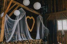 Wie ihr nur in 2 Monaten eine perfekte Scheunenhochzeit plant, das verrät euch das BRautpaar hier. Mit vielen DIY Tipps und schöner Dekoration