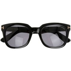 Tom Ford Campbell Sunglasses (7,445 MXN) ❤ liked on Polyvore featuring men's fashion, men's accessories, men's eyewear, men's sunglasses, sunglasses, accessories, glasses, lentes, occhiali and black