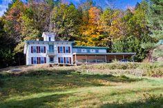 Fall foliage at Cobble House Inn Bed & Breakfast in Stockbridge, Vermont