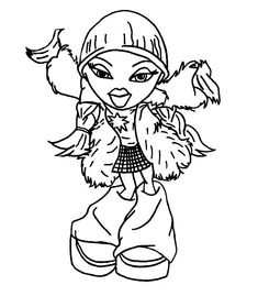 31 Bratz Coloring Pages Ideas Coloring Pages Coloring Pictures Coloring Books