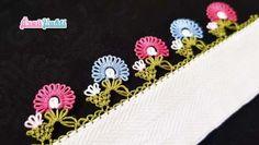 Daha Güzeli Yok 23 Şahane İğne Oyası Çiçekli Yazma Kenarı Modelleri Needle Lace, Diy And Crafts, Crochet, Ganchillo, Crocheting, Knits, Chrochet, Quilts