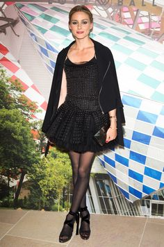 Olivia Palermo Channels an Edgy Ballerina at Natalia Vodianova's Annual Love Ball in Paris from InStyle.com