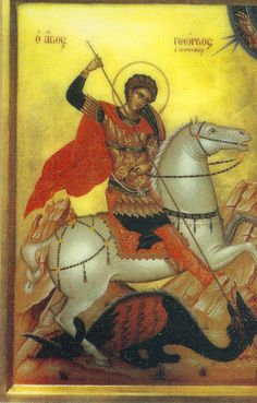 St. George (Patron Saint of My Family ... Tribe)
