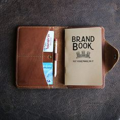 The Logbook Fine Leather Field Notes Moleskine Wallet Pocketbook Cover - Made in Huntsville Alabama with the Finest of Full Grain American Leather. Fits standard pocket moleskine and field notes journals. Leather Front Pocket Wallet, Brown Leather Wallet, Leather Hides, Men's Leather, Holtz Leather, Mens Monogram, Leather Journal, Leather Notebook, Field Notes