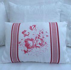 Vintage Hatley Cerise Cushion