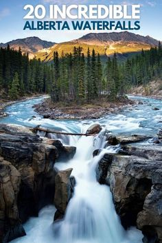 Here are 20 incredible waterfalls in Alberta to see for yourself!