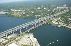 Gold Star Memorial Bridge, New London / Groton, CT | Flickr ...