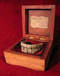 George Washington's Wooden Dentures