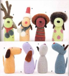 Cute Felted Dogs PDF Patterns book, $4.0