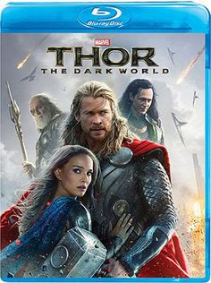 """THOR: THE DARK WORLD - I had a ton of fun with """"Thor: The Dark World,"""" and I quite possibly enjoyed it even more watching it a second time on Blu-ray. This gives me a lot of hope for the upcoming """"Captain America: The Winter Soldier,"""" whose previous film was burdened with origin stories and exposition. In short, the Marvel cinematic universe is shaping up to be one of the best cinematic universes out there, and I'm thrilled."""