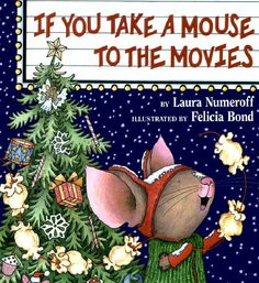 The Budget SLP: Taking the Mouse to the Movies-cute book for kids during the holidays. Pinned by SOS Inc. Resources.  Follow all our boards at http://pinterest.com/sostherapy  for therapy resources.