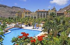 Cordial Mogan Playa Hotel is a large complex built in the style of a Canarian village.