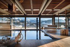 Europe's best luxury ski chalets | Harper's Bazaar Chalet Mont Blanc, Megeve