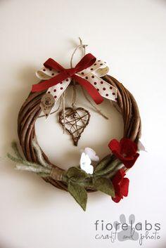 X-Mas wreath.