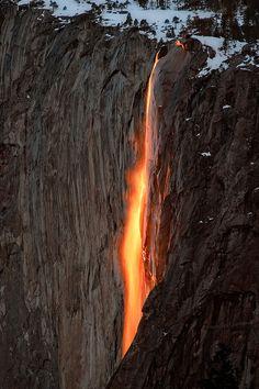Horsetail Firefall, Yosemite