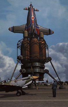 Steampunk'd | bassman5911: MINISTRY OF SPACE by Warren Ellis