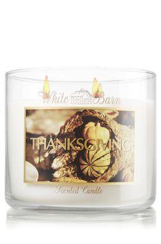 Thanksgiving 14.5 oz. 3-Wick Candle - Slatkin & Co. - Bath & Body Works