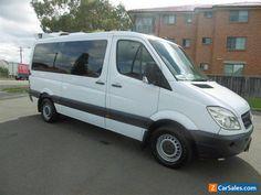 2008 Mercedes-Benz Sprinter 315 CDI MWB White Automatic A Van #mercedesbenz #sprinter #forsale #australia
