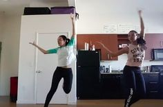 On February 1, they posted a video in which they combine Bharatnatyam with their daily popping exercises. | These Twin Dancers Have Invented A Bharatnatyam-Popping Fusion That's AMAZING To Watch
