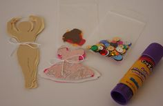 grey luster girl: Ballerina Birthday Party Part 3: Take Home Bags