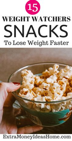 15 Healthy Weight Watchers Snacks that can help you lose weight faster. Best Weight Watchers snacks for losing weight faster. Delicious and healthy snacks Weight Watcher Dinners, Weight Watchers Desserts, Weight Loss Snacks, Losing Weight, How To Lose Weight Fast, Dinner Reciepes, Healthy Snacks, Healthy Recipes, Healthy Weight