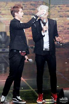 Jin and Rapmon #BTS