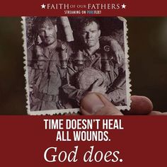Faith of Our Fathers is now streaming on Pure Flix. Grab the family and remember our Military this weekend. Faith Of Our Fathers, American Veterans, Christian Movies, Do You Believe, God Is Good, Pure Products, Success, Military, Tools