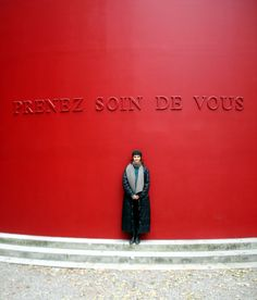 Take Good Care of Yourself! Sophie Calle's Prenez Soin de Vous (Take Good Care of Yourself) message