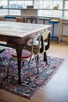rug & chairs