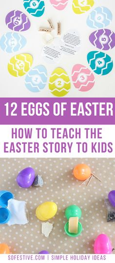 12 Eggs of Easter- Teach Kids the Easter Story