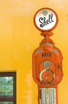 A fine, upstanding pump!
