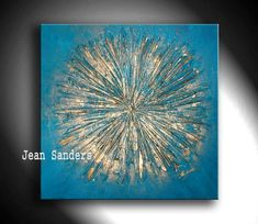 JEAN SANDERS abstract art painting ORIGINAL artwork, texture, knife work,wall art wall decor painting on canvas ready to hang : Product description Hand painted original painting on canvas, abstract art Acrylic painting on canvas. Acrylic Painting Canvas, Acrylic Art, Canvas Art, Texture Art, Texture Painting, Art Mural, Wall Art, Wall Decor, Bild Gold