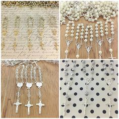 25 pcs First communion favors Recuerditos Bautizo / Mini Rosary Baptism Favors 25 pcs on Etsy, $16.99
