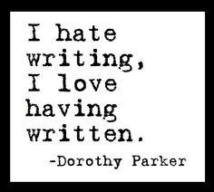 1926 dorothy essay parker