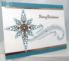 Star Of Light, Copper Foil, Stampin Up, http://susanstamps.wordpress.com