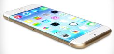 iphone with curved screen