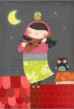 'Ninaviolin' by Sigrid Martinez (Cosmmia)