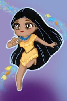 Chibi Pocahontas | Pocahontas Chibi