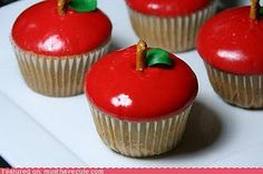 cute idea to give to your kids teachers   #food #cupcakes