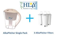 We're Giving Away an AlkaPitcher+3 Filters - a $97 value! Look for Coupon Code below to save $20 off an AlkaPitcher. Enter our #giveaway now for your chance to win from HL4Y