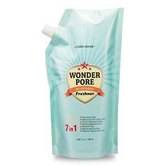 ETUDE Skin toner  Wonder Pore Freshener Refill!! it's good idea saving the earth and making the beauty!!