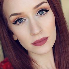 Loving this soft glam look by @kaylahagey using OFRA's Mocha Liquid Lipstick and Illuminating Blush Stripes! SO beautiful!! ️