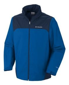"""Columbia Glennaker Lake Rain Jackets for Men - Blue Jay - 3XL: """"""""""""Stay ready for anything in this… #Fishing #Boating #Hunting #Camping"""