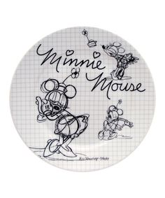 Take a look at this Minnie Mouse Sketchbook Salad Plate - Set of Four on zulily today!