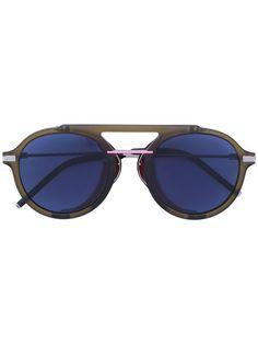 0df567d6455 Fendi Eyewear round aviator sunglasses Aviateurs