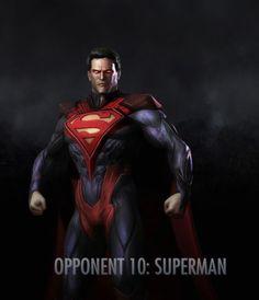 SUPERMAN  REGIMEN INJUSTICE GODS AMON US