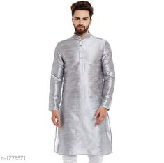 Kurtas Ethnic Silk Solid Kurta Fabric: Silk Sleeves: Sleeves Are Included Size: S M L XL XXL (Refer Size Chart For Details) Length: Refer Size Chart Type: Stitched Description: It Has 1 Piece Of Men's Kurta Pattern: Solid Country of Origin: India Sizes Available: S, M, L, XL, XXL   Catalog Rating: ★4 (293)  Catalog Name: Mens Ethnic Silk Solid Kurtas Vol 2 CatalogID_233450 C66-SC1200 Code: 825-1778571-5631